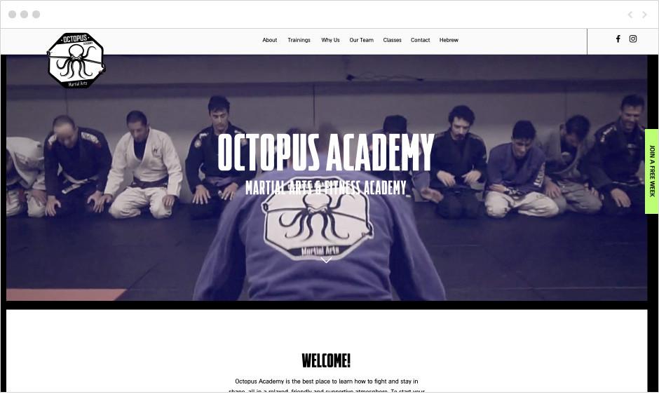 Siti palestre Octopus Academy