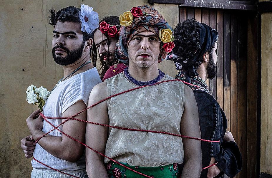 portrait of 4 men by wix photographer camila fontenele