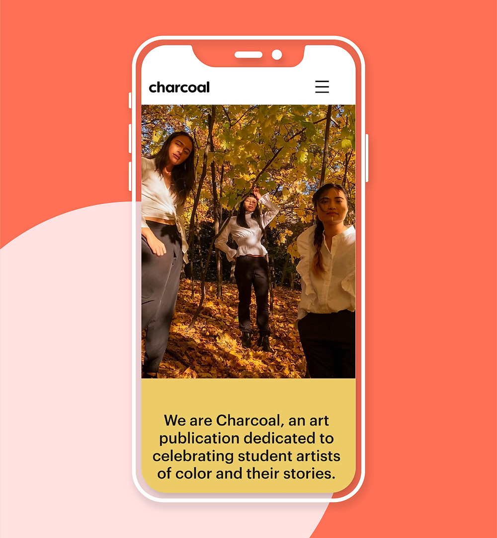 Charcoal mobile website