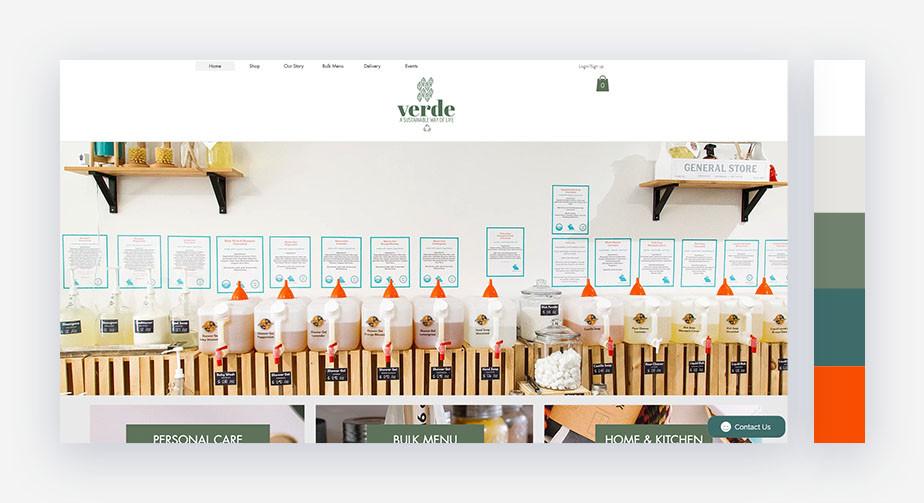 50 paletas de cores para o seu site: calma e refrescante