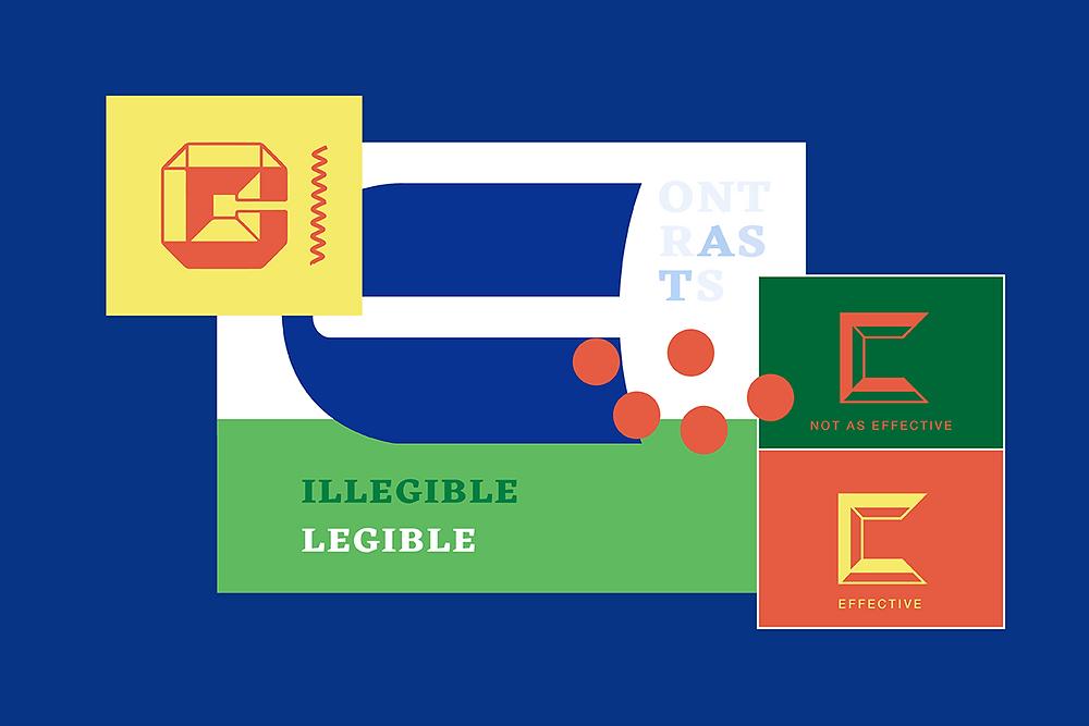 Accessible web design: good color contrast