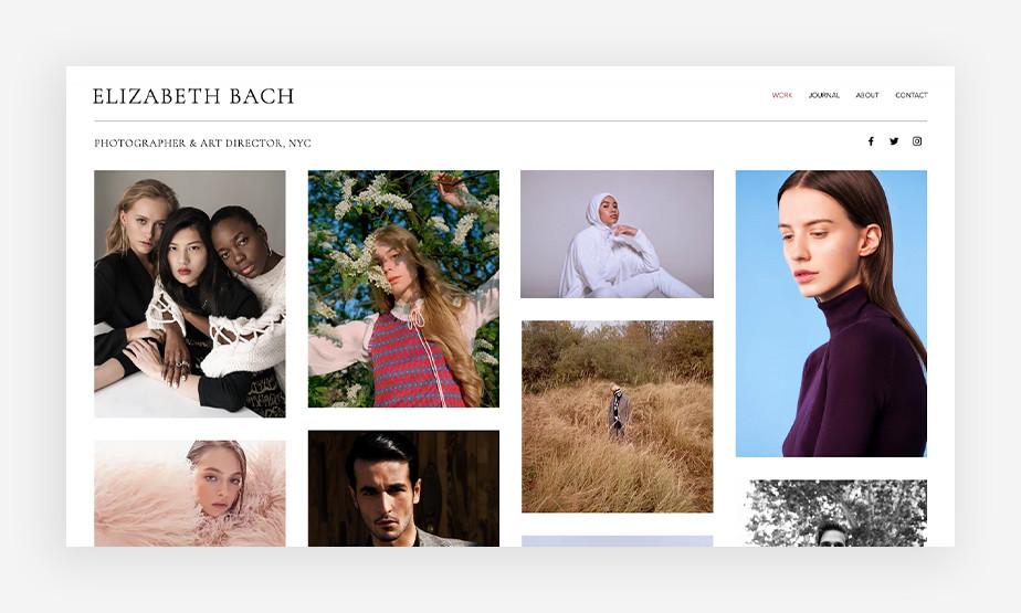 Usługi fotograficzne – strona internetowa