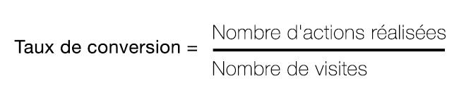 Fraction Calcul Taux de conversion