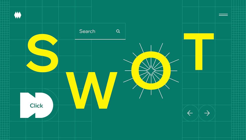 """Capa do artigo """"Análise SWOT: o Que é e Como Implementá-la em Seu Negócio Online"""""""