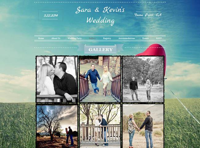 Site du mariage de Sarah et Kevin