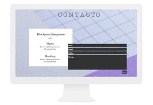 Página de Contacto: Que Escribirte Sea Más Fácil que Contar hasta Tres