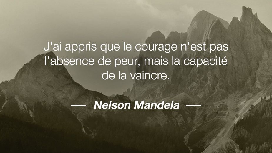 Citation Nelson Mandela