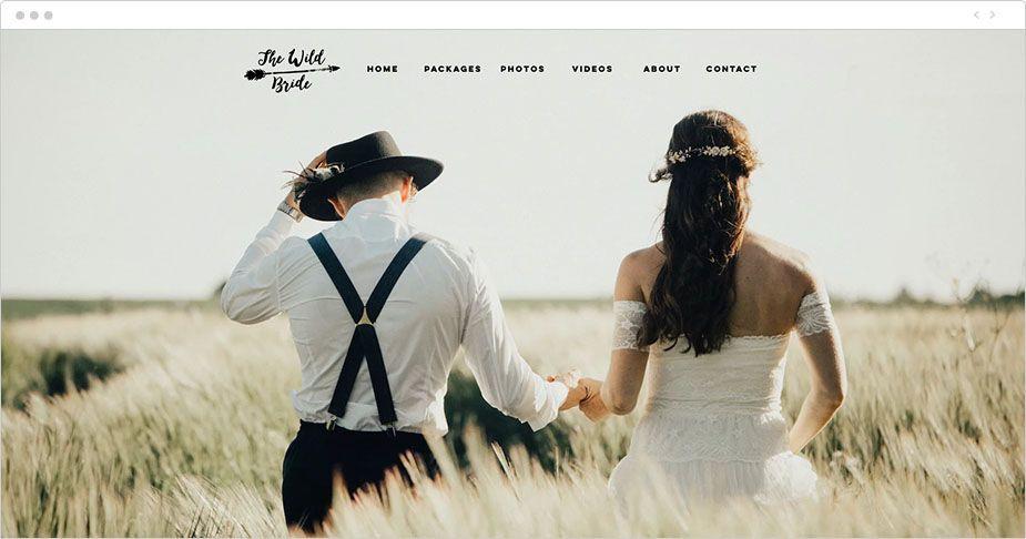 Portfolio di foto online di The Wild Bride