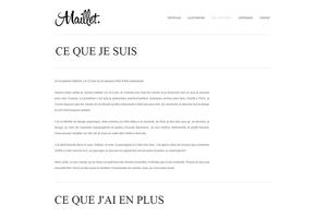 Adeline Maillet Graphiste Freelance QUELQUES MOTS