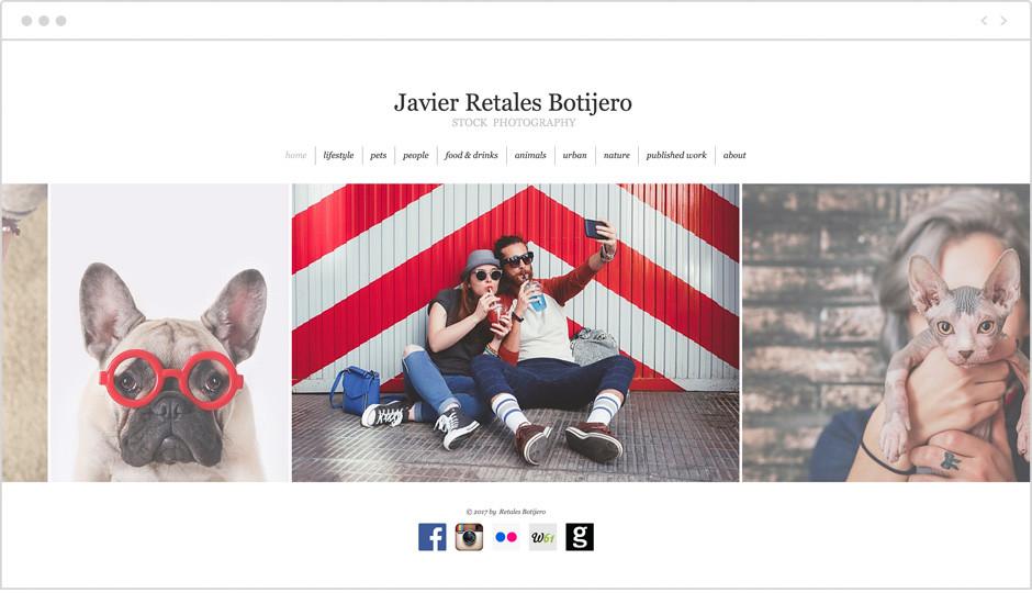 Galería de imágenes del portafolio fotográfico de Javier Retales Botijero