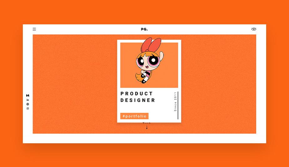 Przykład UX portfolio – Priyanka Goyal
