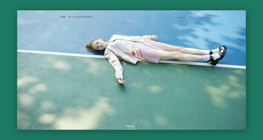 Best website design by Fei Luo Photography