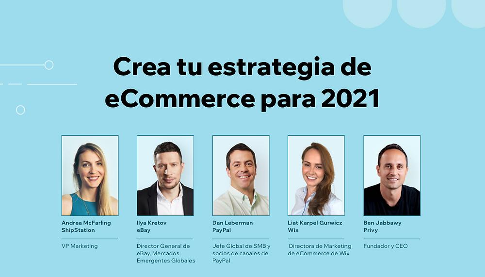 Crea tu estrategia de eCommerce para 2021