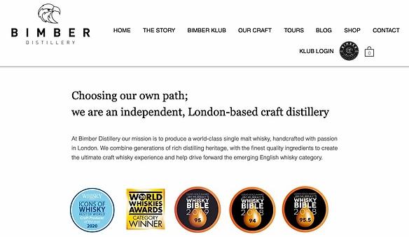 viski damıta atölyesi e-ticaret sitesi afişi