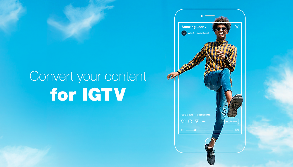 convert your videos for IGTV