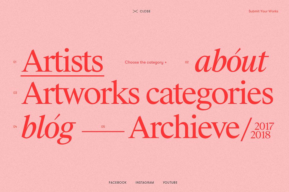 Font pairings in web design by Zhenya Rynzhuk