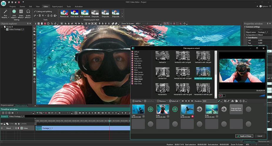 VSDC darmowy edytor wideo