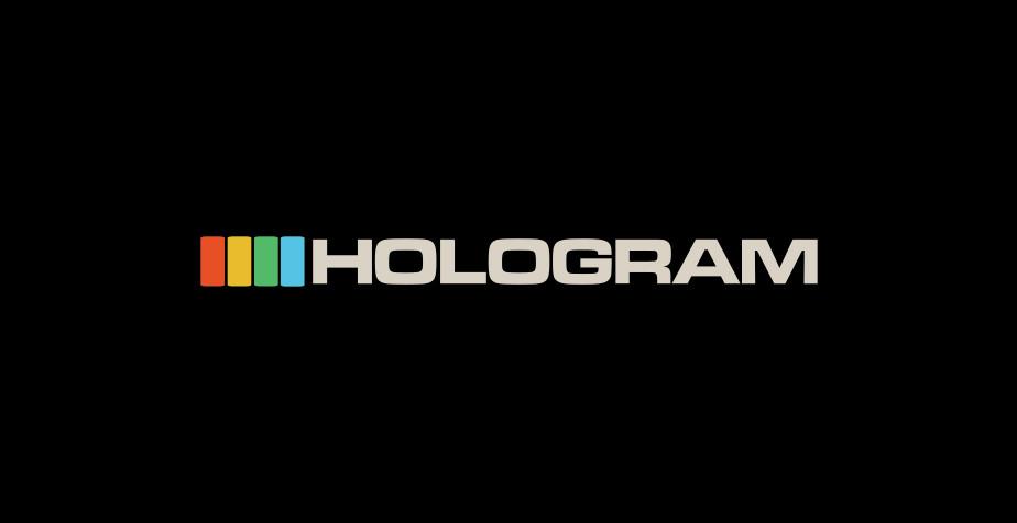 Hologram tech logo