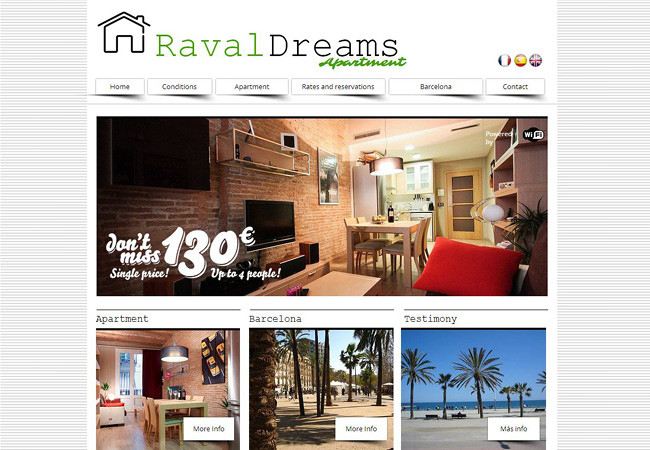 Alquiler de departamentos Online Raval Dreams