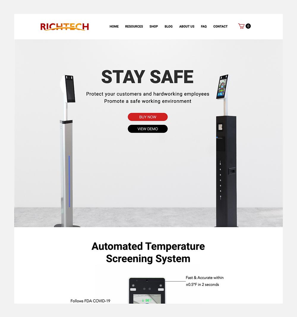 B2B işletmesi Richtech