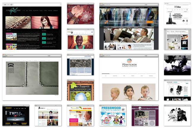 Примеры сайтов, созданных на платформе Wix