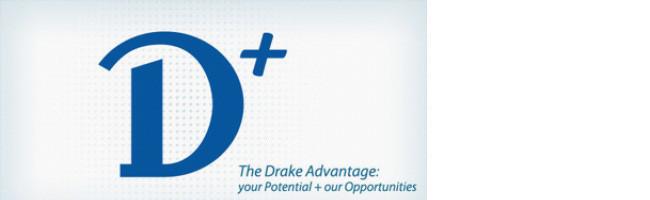 Логотип университета Drake