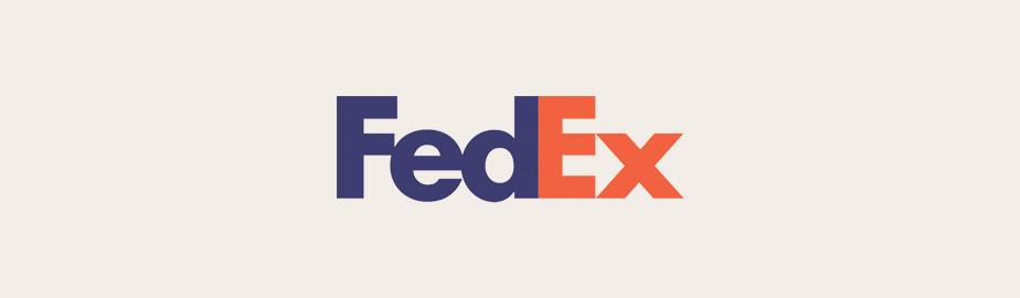 Fedex Logo als Beispiel für ein modernes Logo