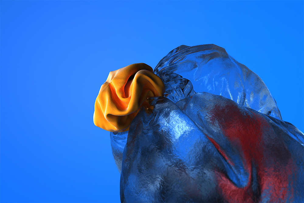 Creating new materiality in 3D motion design