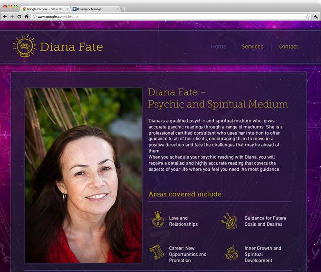 Шаблон для сайта по астрологии