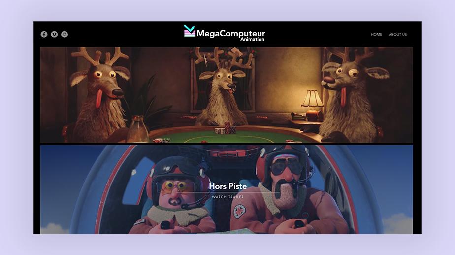 Animation portfolio: MegaComputeur