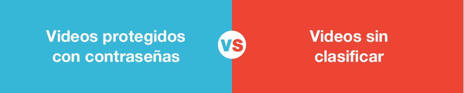 Diferencias de privacidad entre Vimeo y Youtube