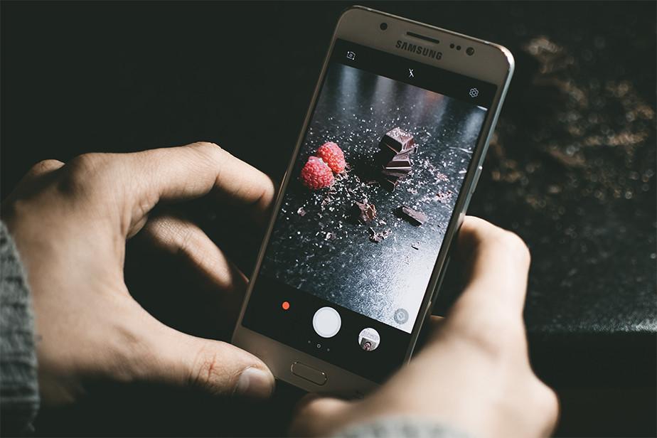 Zdjęcia jedzenia z telefonu