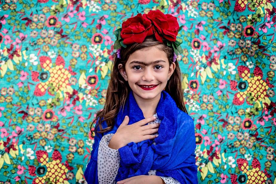 girl dressed as frida kahlo by wix photographer camila fontenele