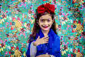 girl dressed as frida kahlo by wix photographer camila fontenele