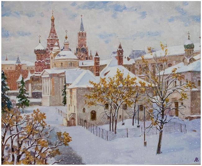 «Ранняя зима», В. Лаповок