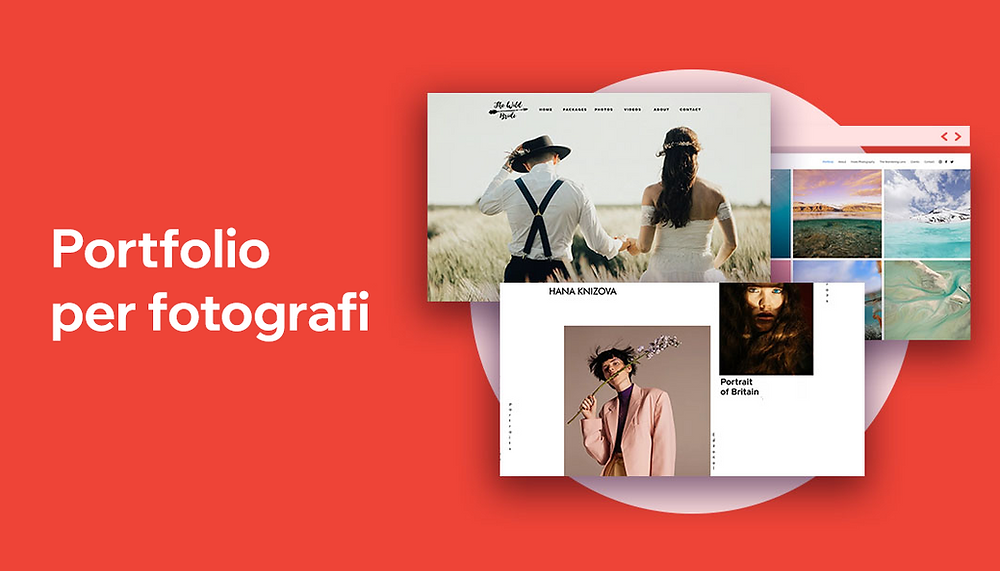 Esempi di portfolio di foto online