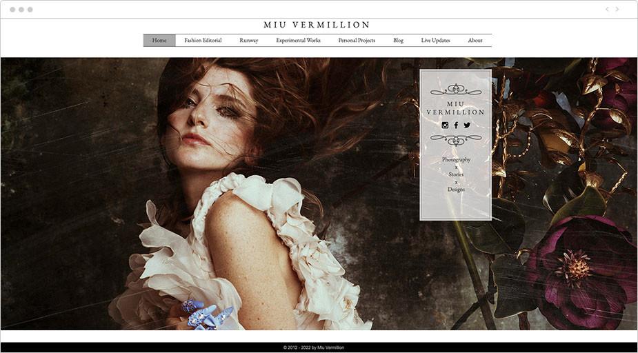 Portfolio fotograficzne online przykład