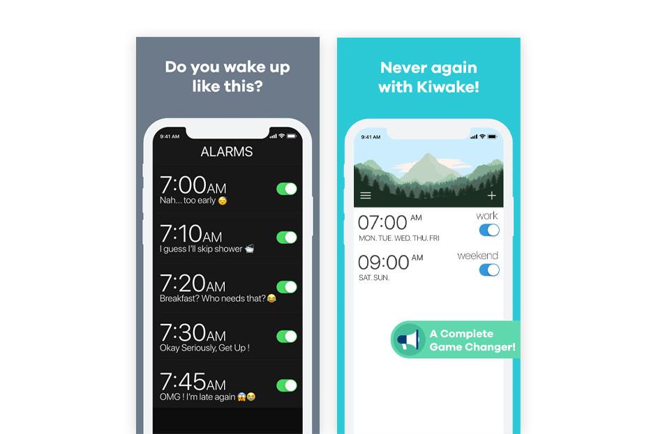 Приложение для тайм менеджмента: Kiwake App