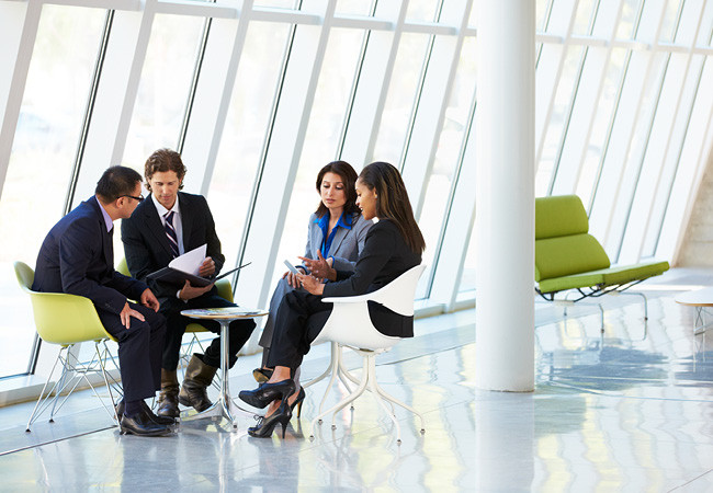 Бизнес встреча