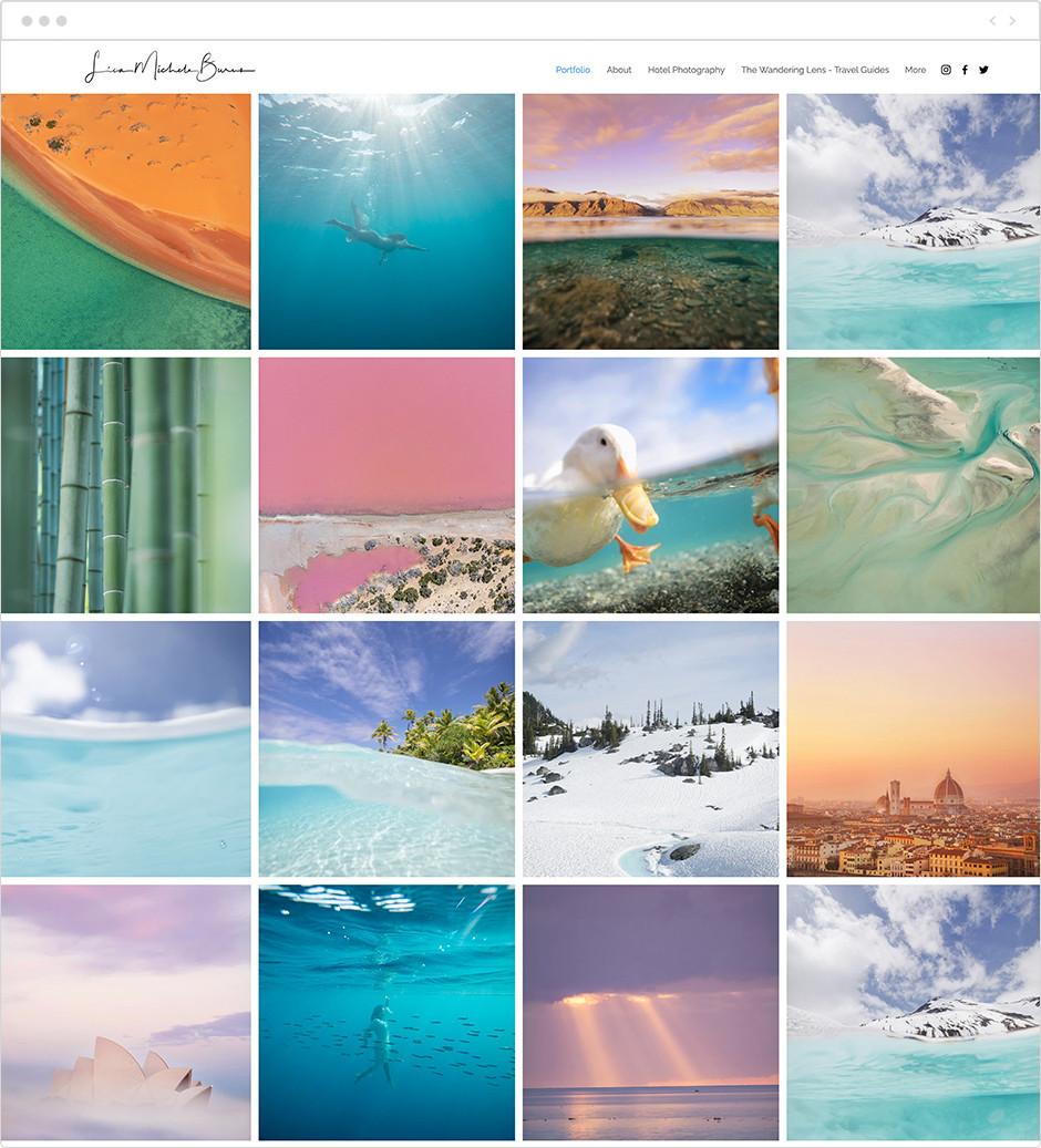 風景写真家サイト Lisa Michele Burns