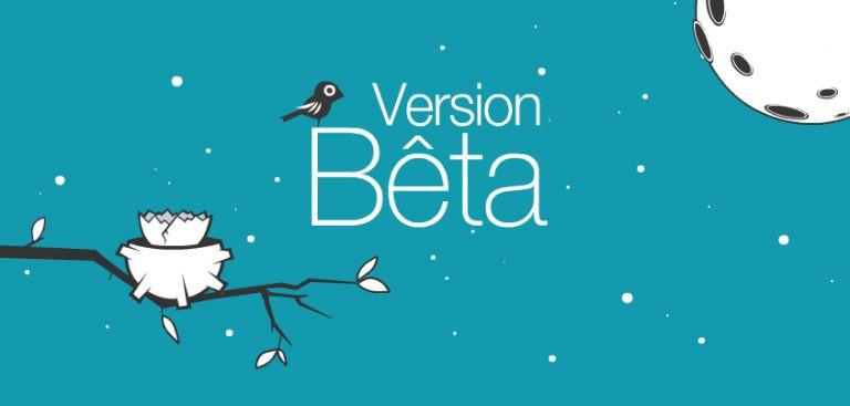 Version bêta