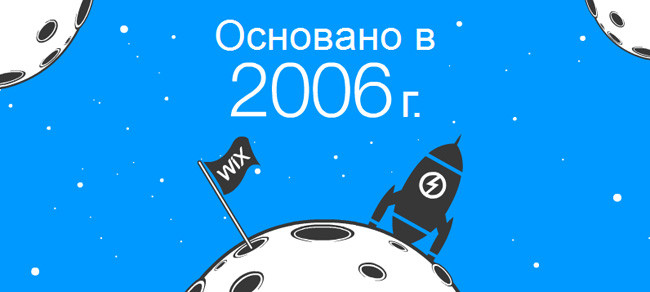 Wix была основана в 2006 году - год собаки!