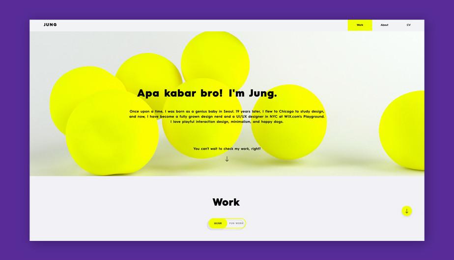 Bet website design by Junghoe Hwang