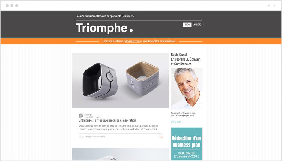 site web de leadership