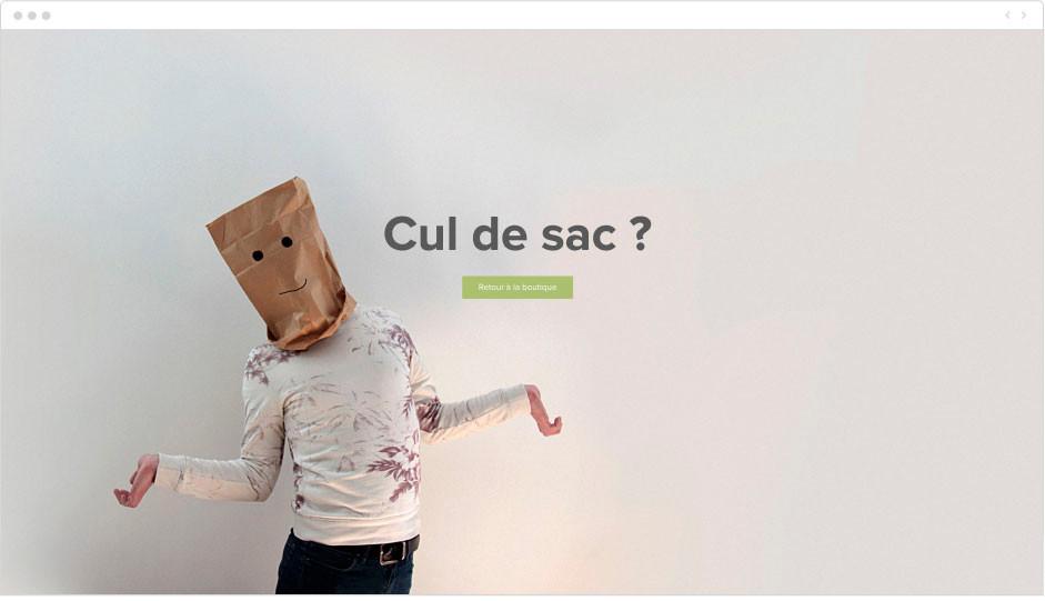 Reversible - page erreur 404