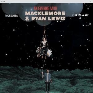 официальный сайт Macklemore & Ryan Lewis