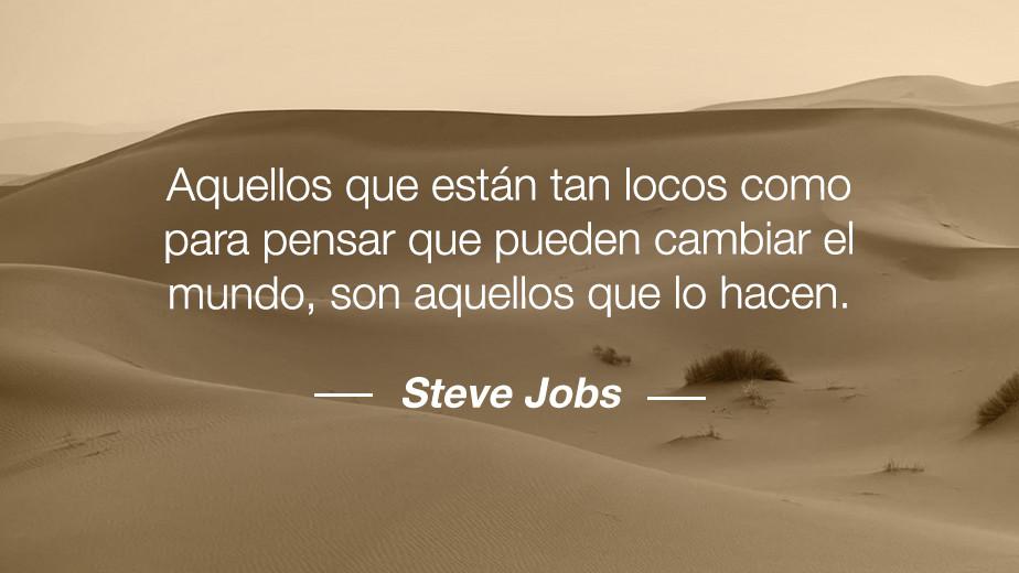 Frase de Steve Jobs