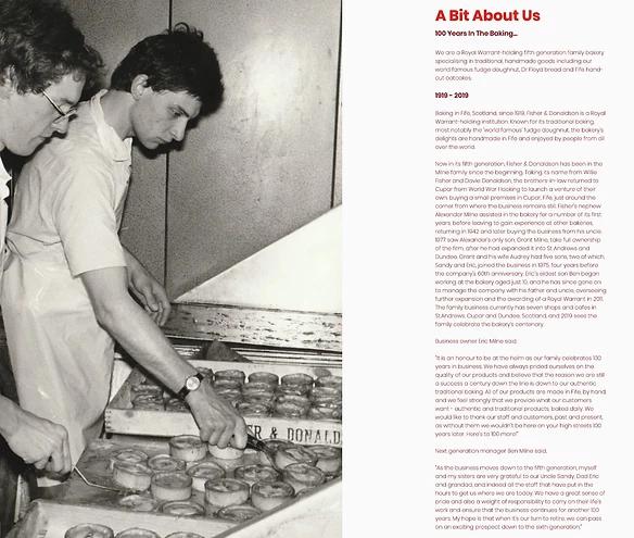 Рассказ об истории пекарни