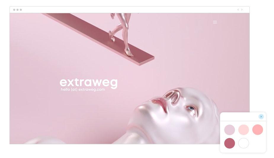 extraweg Wix website