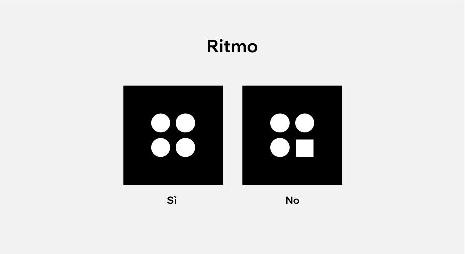 principi di design applicati al web design: ritmo